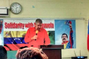 Venezuelan Ambassador to St. Vincent & the Grenadines - Yuri Pimentel. (photo Credits: Mikail Muhammad)