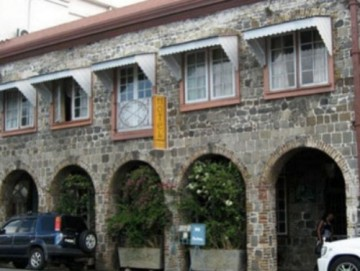 The Cobblestone Inn, located in Capital City - Kingstown.