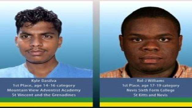 St Vincent And The Grenadines And St Kitts Nevis Capture Top