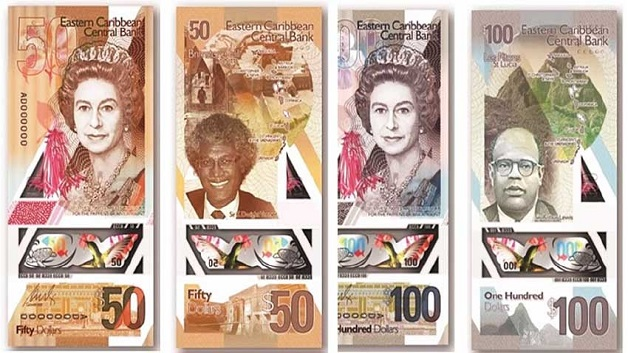 Transition of new EC bank notes in SVG to take effect IN MAY/JUNE of